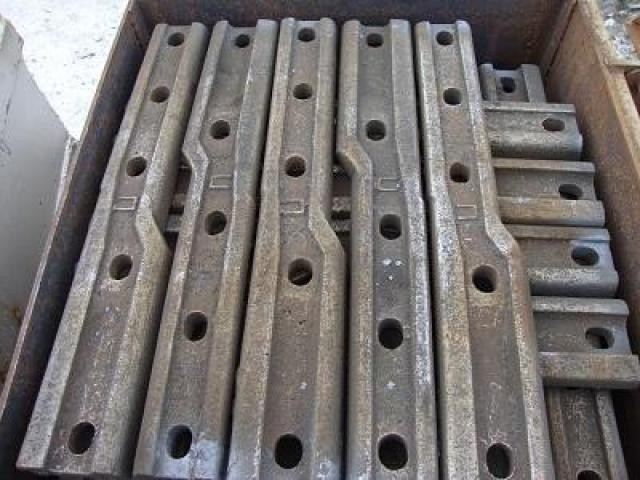 Железнодорожная накладка стыковая переходная для рельс Р65/Р50,Р50/Р43 - 2/2