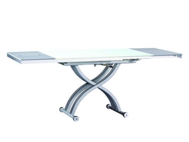 Стол трансформер, консоль, обеденный стол и стулья - 3/4