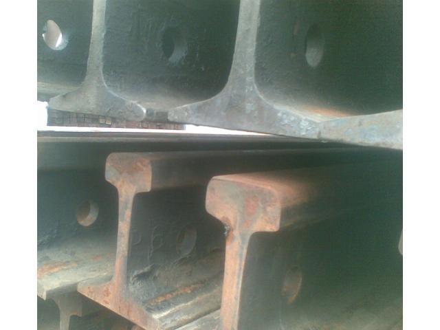 Рельсы железнодорожные Р-65, 1-я группа износа, 12.5м. с отв. на складе. - 1/1