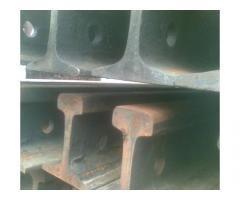 Рельсы железнодорожные Р-65, 1-я группа износа, 12.5м. с отв. на складе.