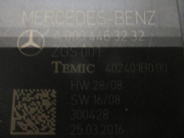Блок управления стеклоподъемниками Mercedes A0004463232 - 1/3