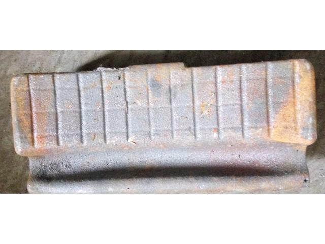 Колодка тормозная локомотивная гребневая чугунная тип М  чертеж 44-5287  ГОСТ 30249-97 - 1/3