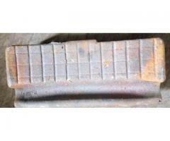 Колодка тормозная локомотивная гребневая чугунная тип М  чертеж 44-5287  ГОСТ 30249-97