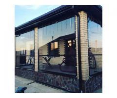 Мягкие окна для беседки, веранды, террасы