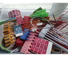 ЗПУ для РЖД, пломбы пластиковые, пломбы наклейки, пломбы тросовые, антимагнит